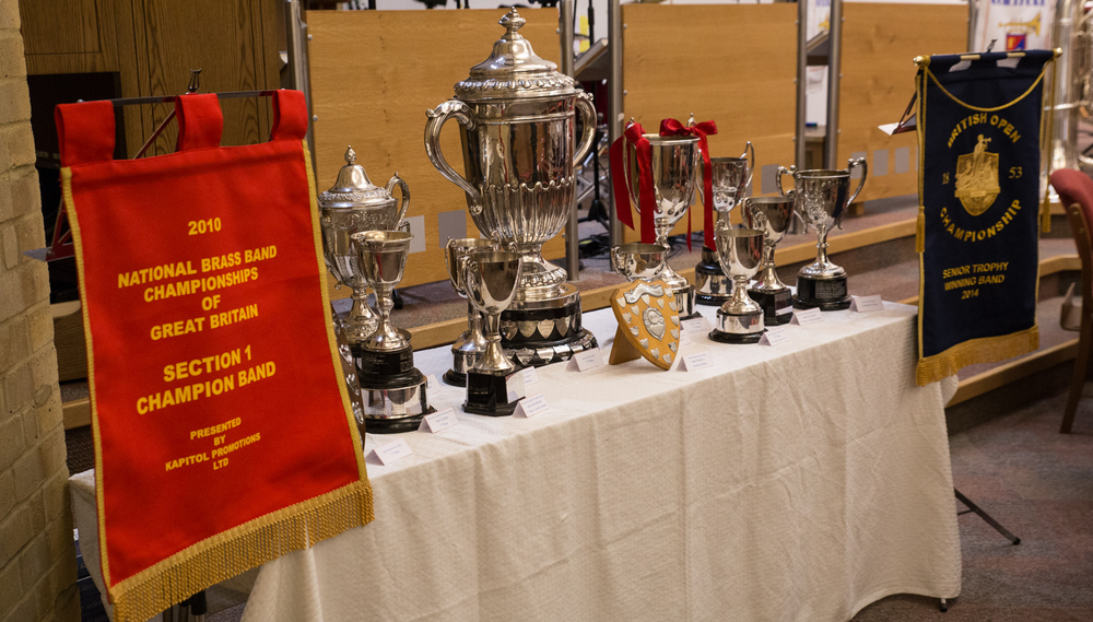 Judging by the groaning table of silverware Friary have been very busy, not to mention successful in 2014!