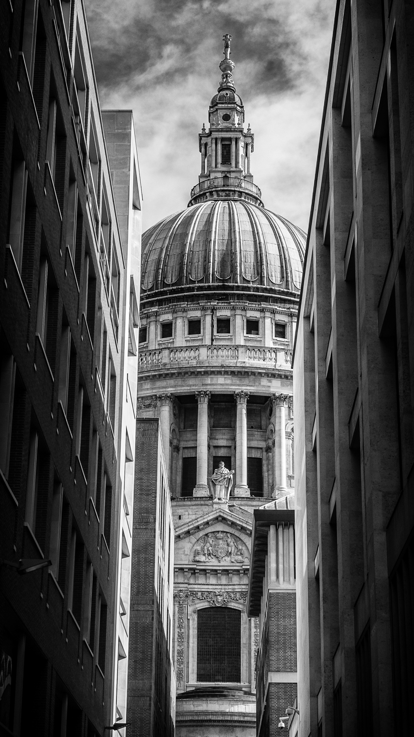 A stolen glimpse of St. Paul's