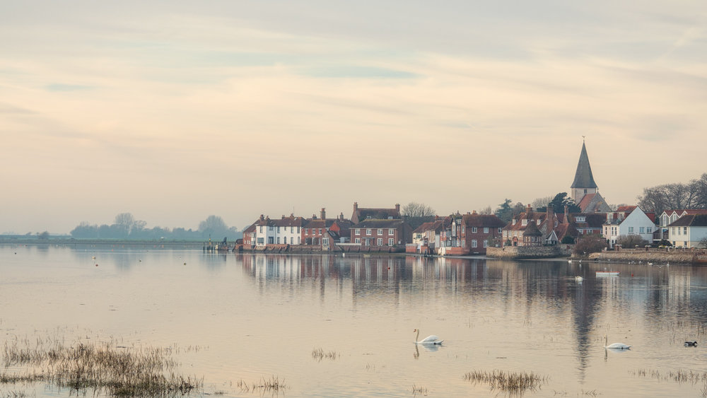 I would never have been able to take this photo of Bosham Harbour if it weren't for my habit of always carrying a camera. Quite by chance I was in the right place at the right time and had my little mirrorless camera with me.