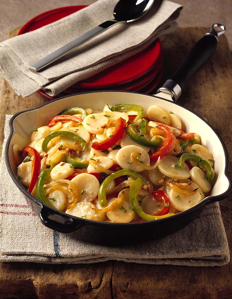 Easy Hot & Spicy German Potato Salad