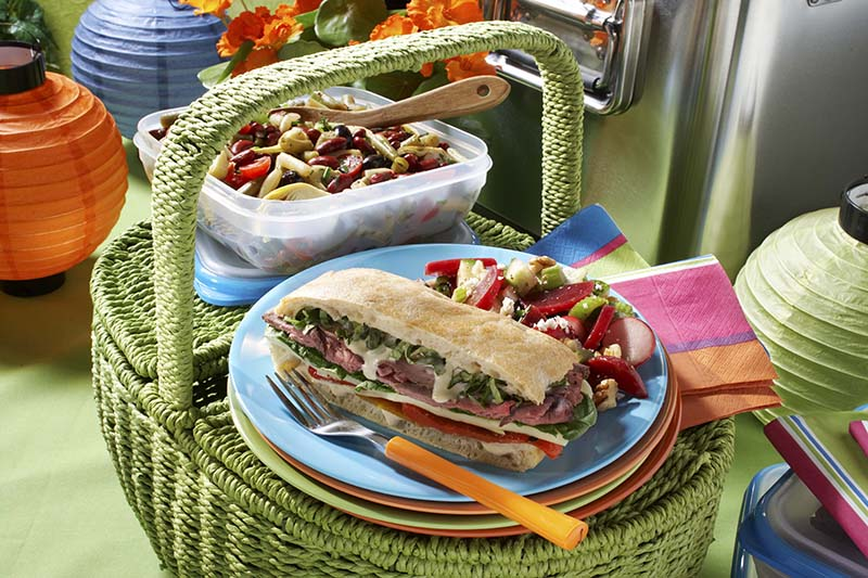 Three Bean Salad Provencal