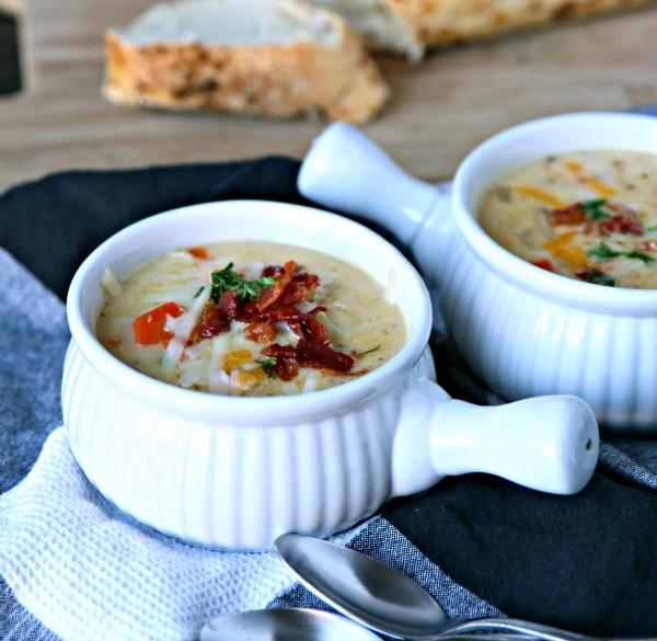 Cheesy German Potato Soup