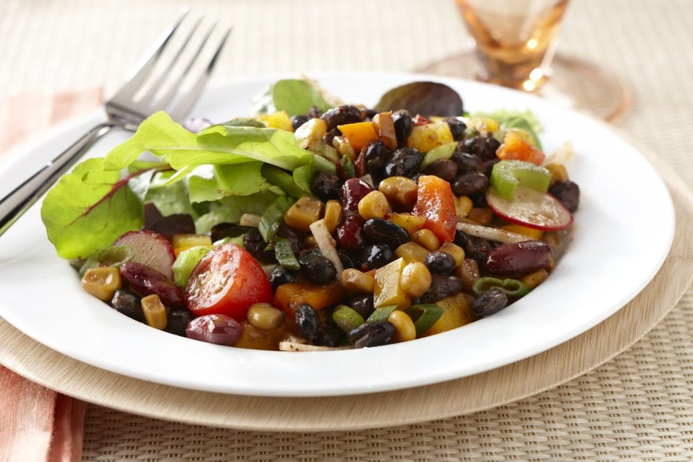 Southwest Bean & Vegetable Salad