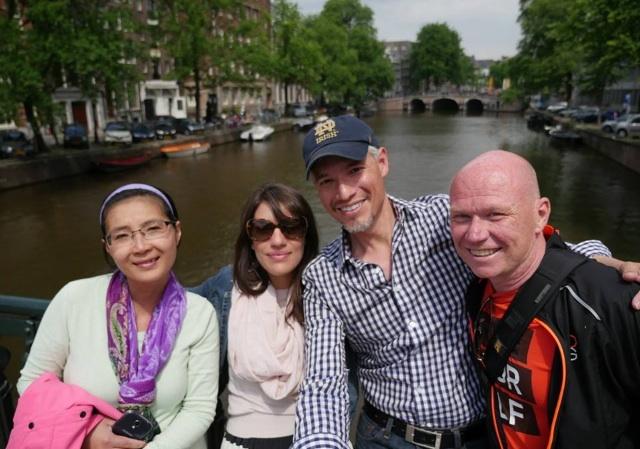 Emma, Me, Tony, & Erkki