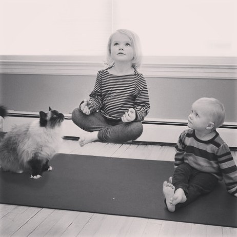 """Yoga is a """"magical"""" practice for the whole family."""