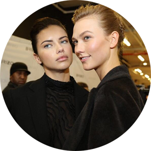 Angels @AdrianaLima & @karliekloss at backstage @JasonWu fashion show #NYFW2014 - twitter.png