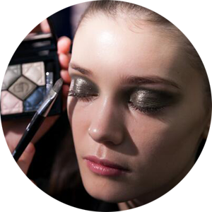 Dior's forthcoming 5 couleurs shadow palette in Jardin
