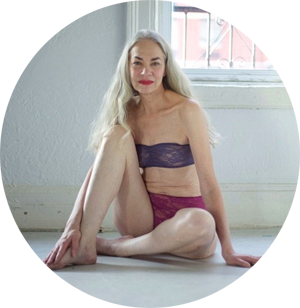 American Apparel's 62-year-old lingerie model