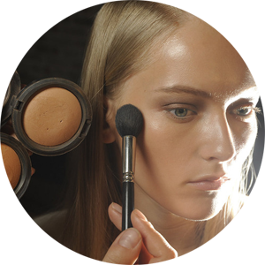 Donna Karan and Mac Mineralize Skinfinish Natural Foundation in Medium Dark and Deep.