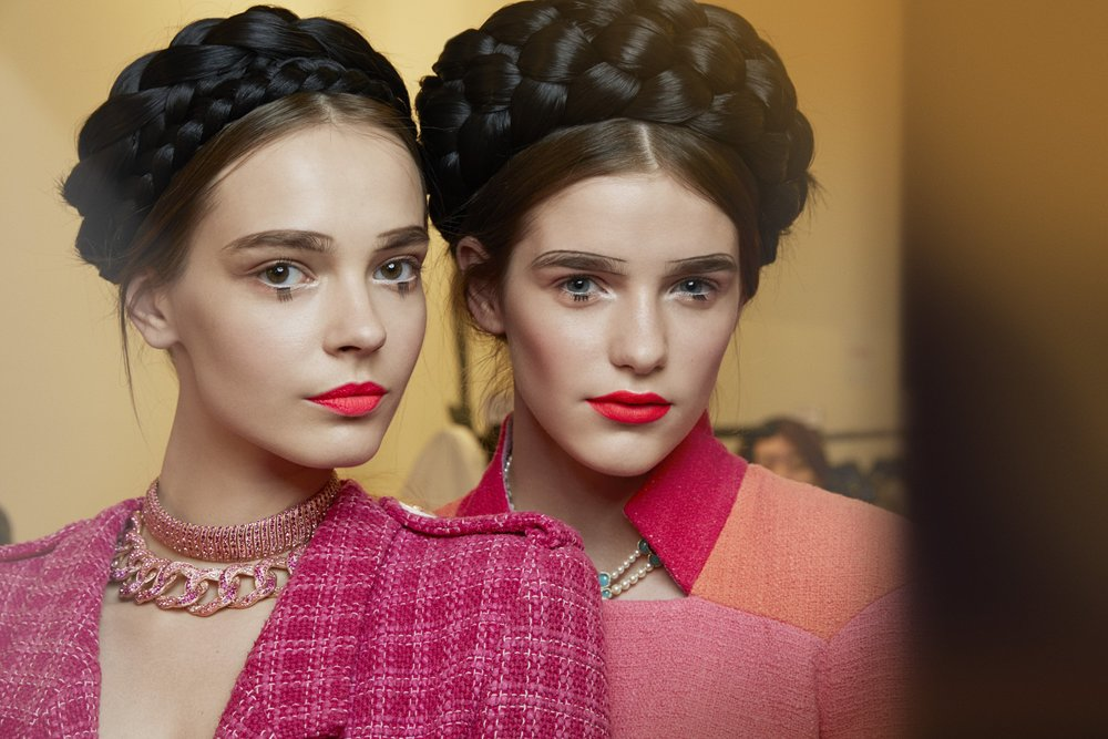 Chanel Cruise 2016 makeup and hair Tom Pecheux and Sam McKnight