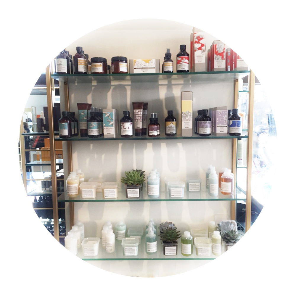Davines at Liberty London