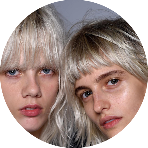 Individuality as a raw and undone makeup look as seen at  Givenchy , Proenza Shouler and  Alexander Wang