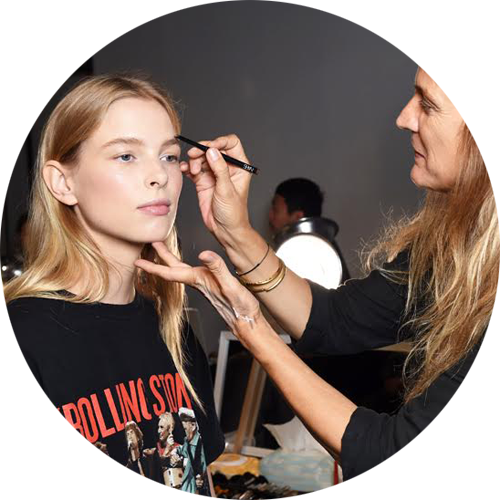 Nars Cosmetics backstage at  Thakoon  SS2016