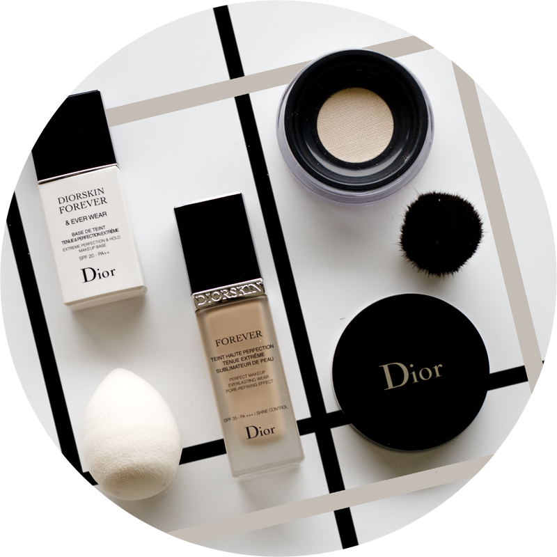 Diorskin Forever & Ever Wear - Diorskin Forever perfect makeup everlasting wear pore refining effect - Loose powder