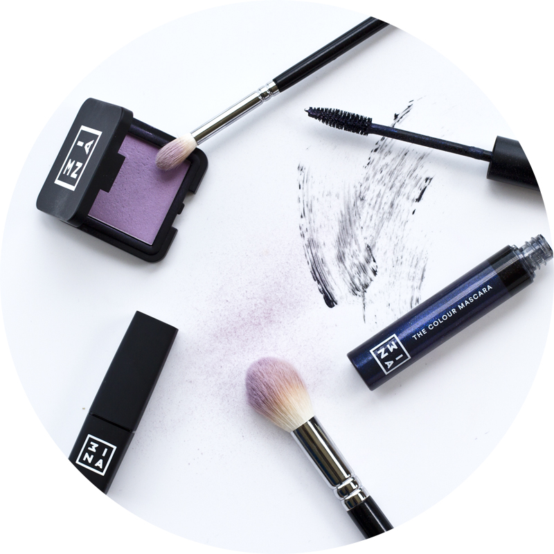 3ina makeup beauty brand budget friendly eyeshadow mascara lipstick zoeva brushes