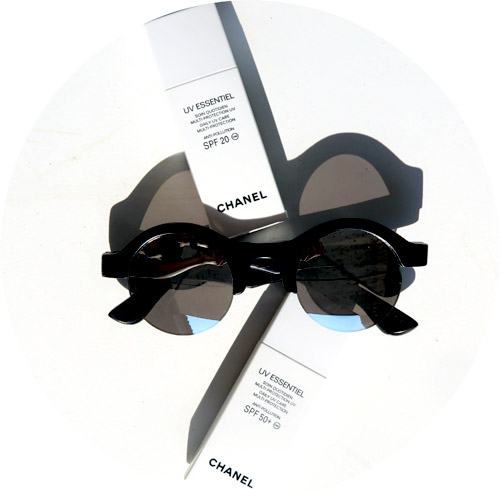 chanel Uv essentiel daily uv care multi protection SPF20 SPF 50+ sunboo sunglasses