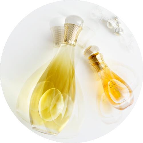 j'adore l'huile divine and j'adore touche de parfum