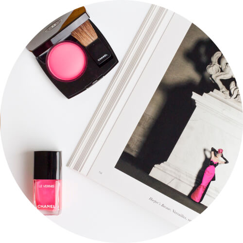 Le Vernis Longue Tenue Hyperrose Glass and Joues Contraste Hyperfresh - chanel collection libre synthetic de chanel.jpg