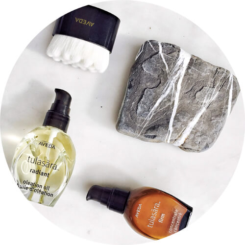 Aveda Tulasāra™ Radiant Awakening Ritual - dry brush and Oleation Oil-beautique blog.jpg