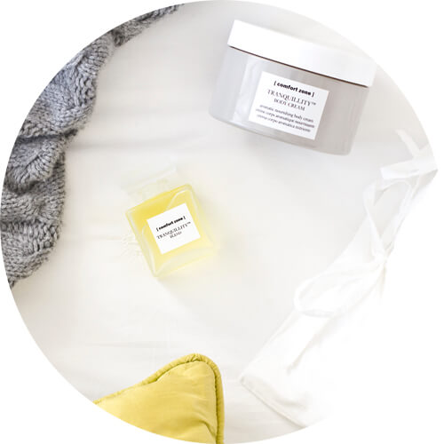 Comfort zone tranquillity oil and body cream