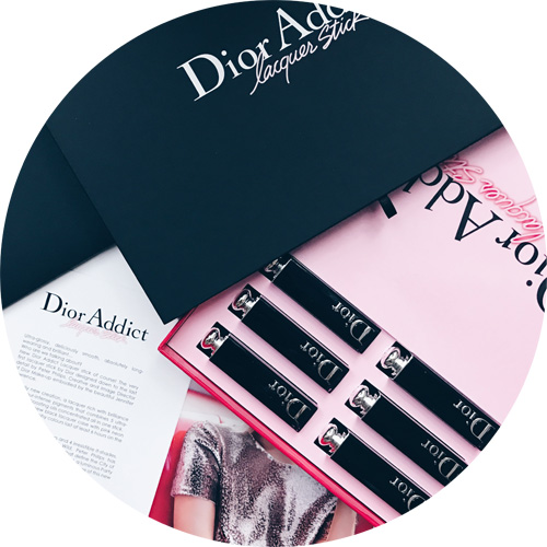 Dior addict lacquer stick: the packaging