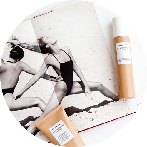 Body Strategist Oil on top and below Body Strategist Cream Gel