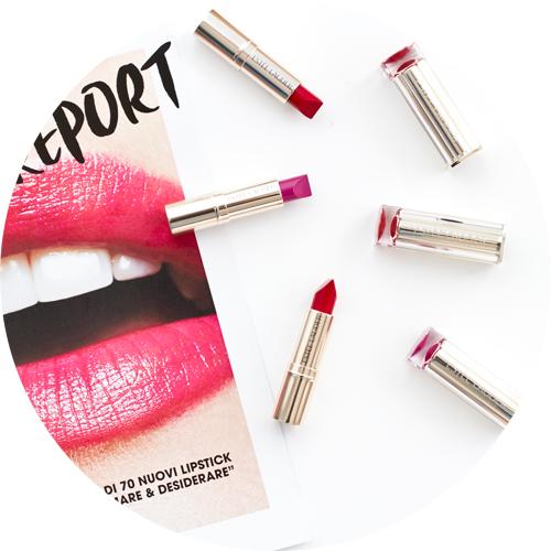 Estee Lauder Pure Color Love Lipsticks in Hi-Voltage and Bar Red