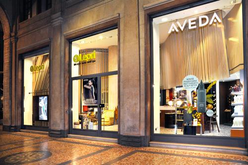 Lepri Aveda Salon in Milan