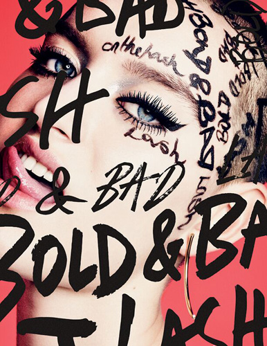 MAC Cosmetics Bold & Bad Lash Mascara la campagna