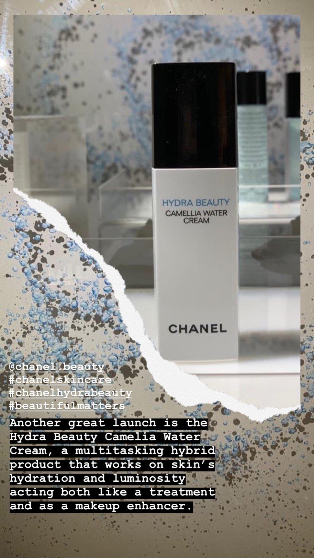 Chanel Hydra beauty Water Cream