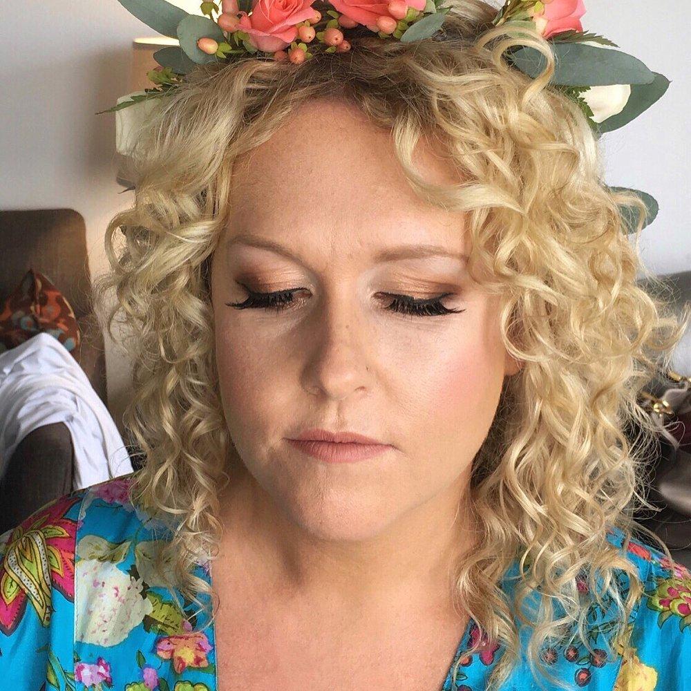 Coreene Collins Bridal Makeup 1