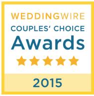2015 WeddingWire Couples' Choice Awards