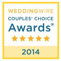 2014 WeddingWire Couples' Choice Awards