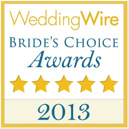 2013 Wedding Wire Bride's Choice Awards
