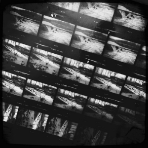 Black & White Contact Sheets
