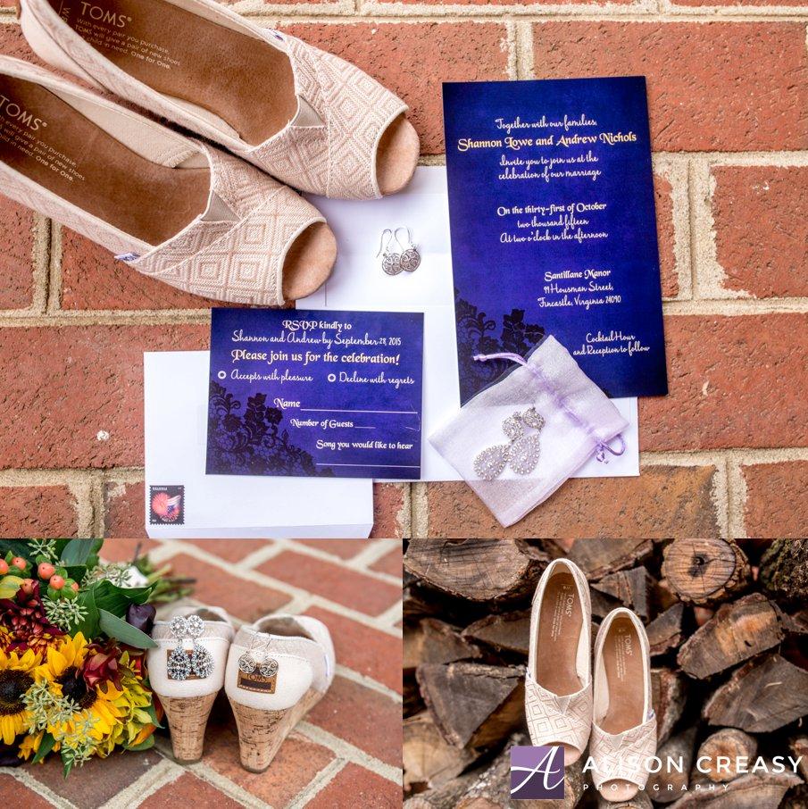 alison creasy photography - halloween wedding at santillane in