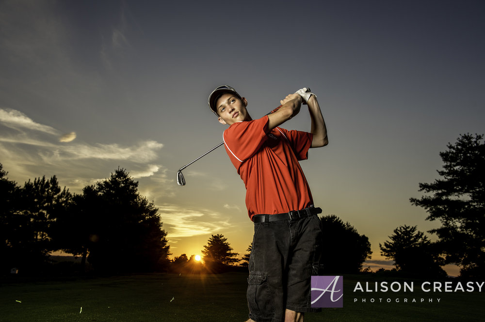 Senior_Photographer_Golf_Lynchburg_VA_Alison_Creasy