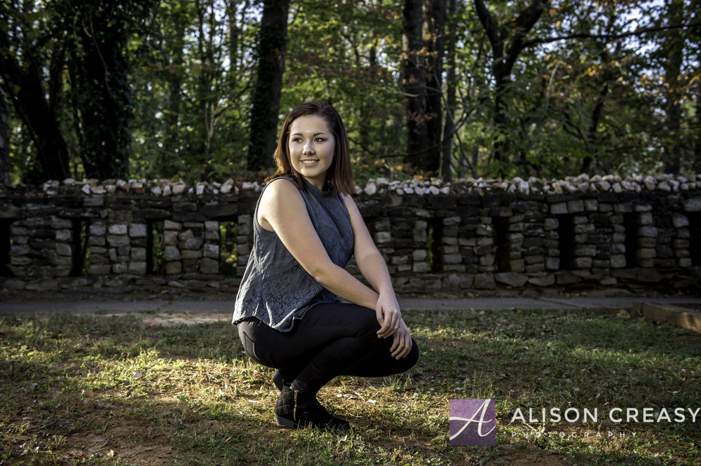 Alison Creasy Photography Rustburg Senior Photography