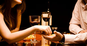 Cook a romantic dinner in or have a special dinner out on the town! Either way it should be a wonderful romantic night.