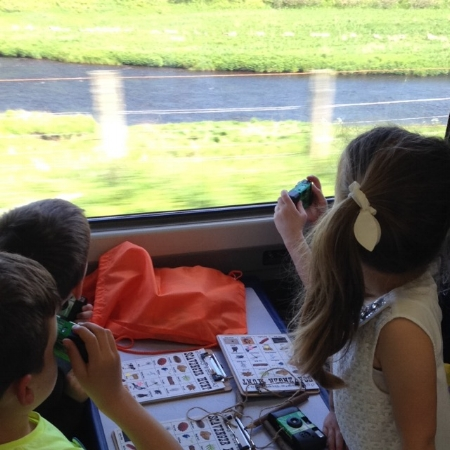 train trip caithness outdoor adventure scavenger hunt
