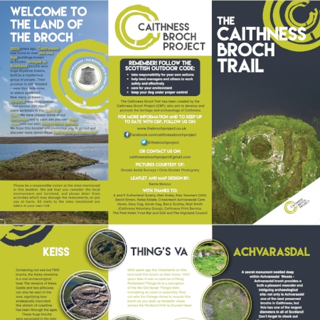 caithness broch project trail leaflet download