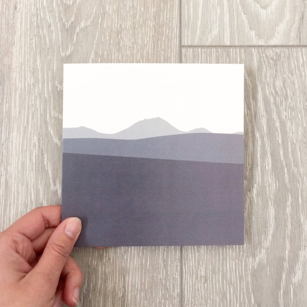 morven greeting card thank you new home caithness