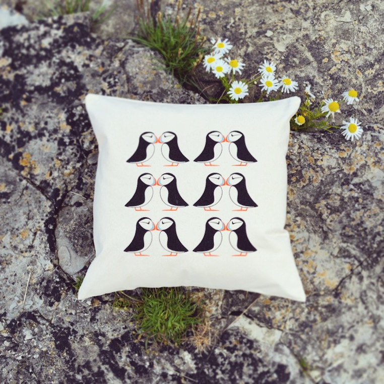 puffin caithness cushion