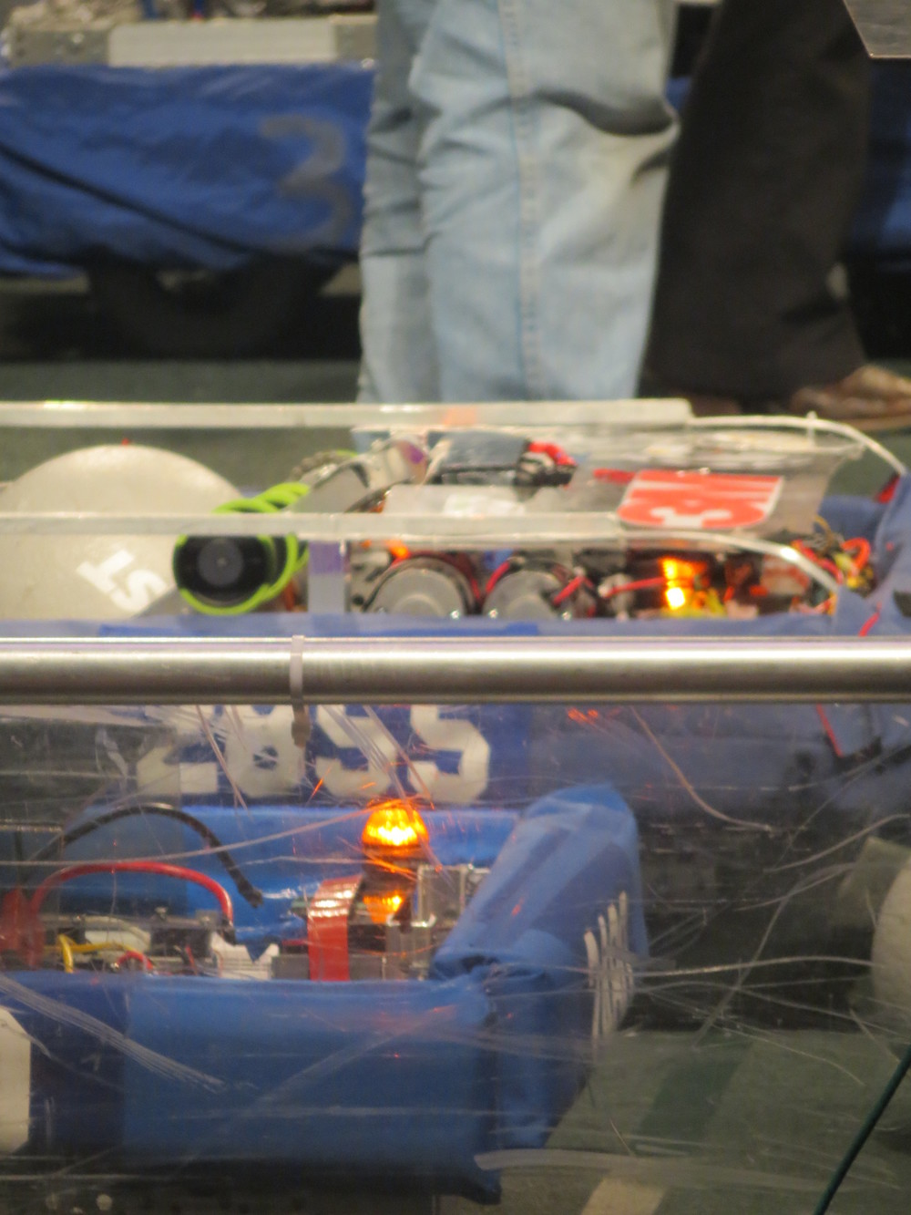 Sparky Ready for Qualification Match 78