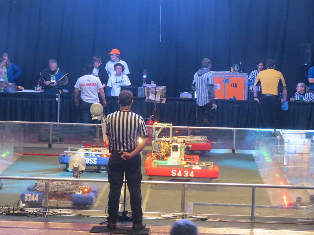 Sparky Poised and Ready to Take On the Number 2 Alliance