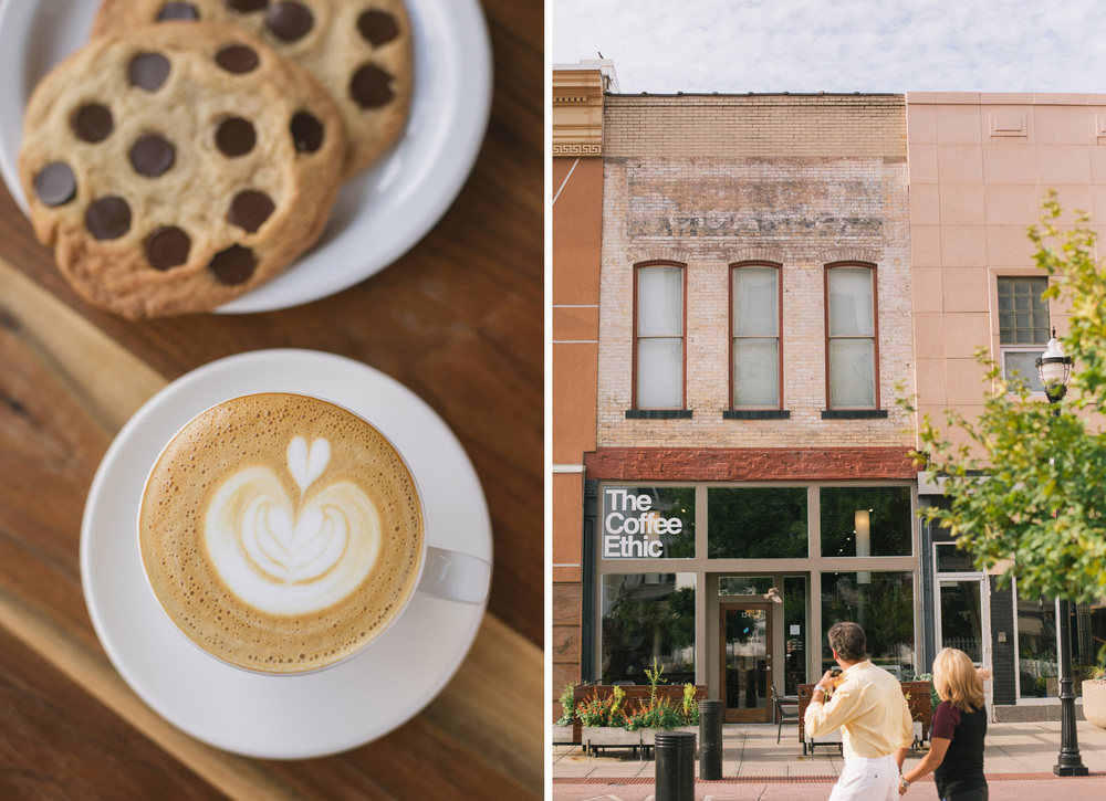 The Coffee Ethic in downtown Springfield, Mo. on Aug. 13, 2015. Photos by Brad Zweerink