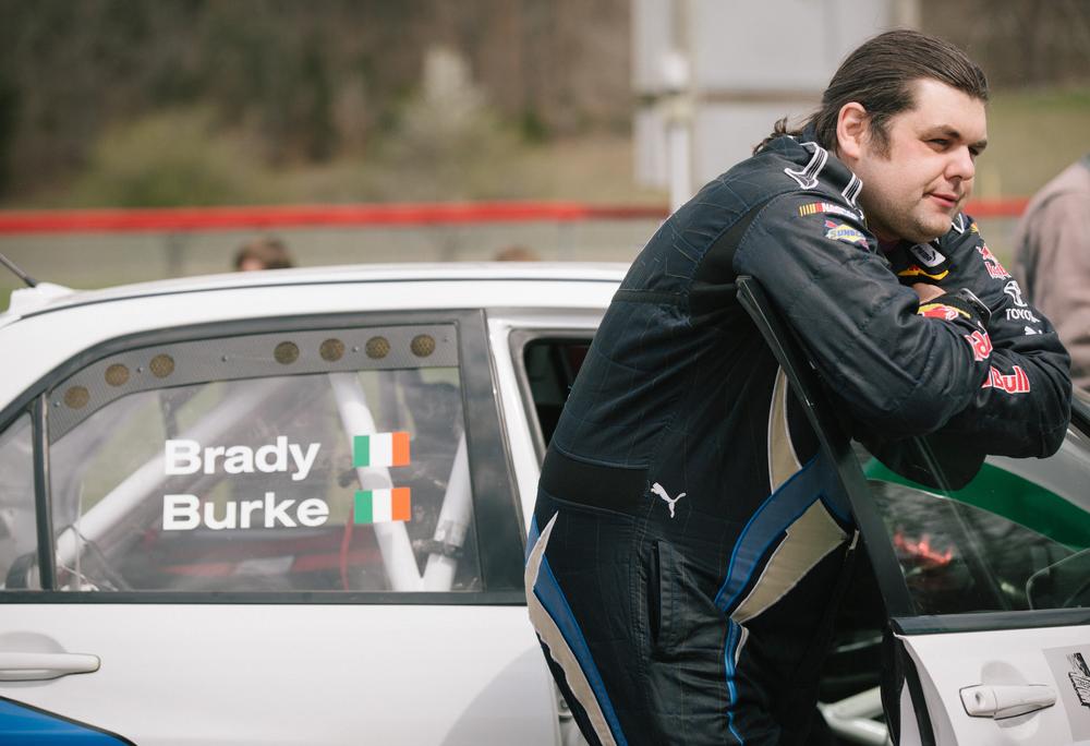 Co-driver Martin Brady