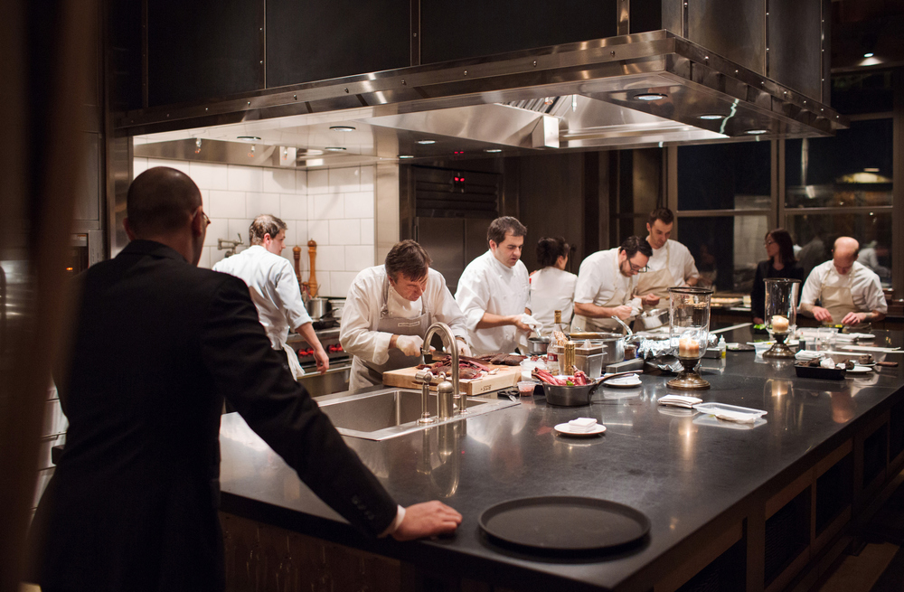 Images from La Paulée de San Francisco's Burgundy Week with chef Daniel Boulud. The dinner also featured Christopher Kostow, executive chef at The Restaurant at Meadowood in Napa Valley and Jean François Bruel, executive chef at DANIEL, whose restaurants each have three Michelin stars.