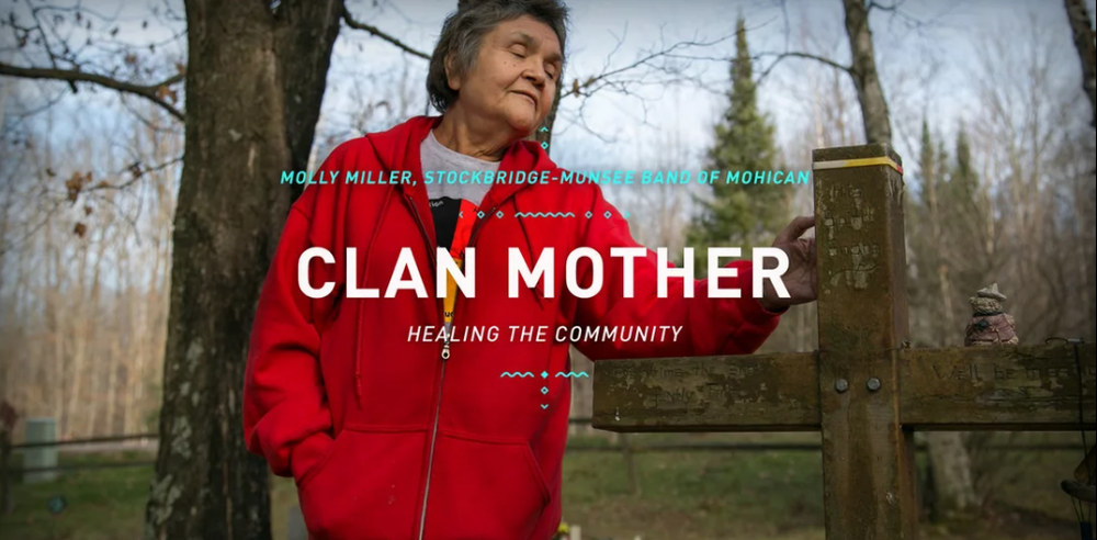 Clan Mother  ~  Molly Miller - Stockbridge-Munsee Band of Mohican