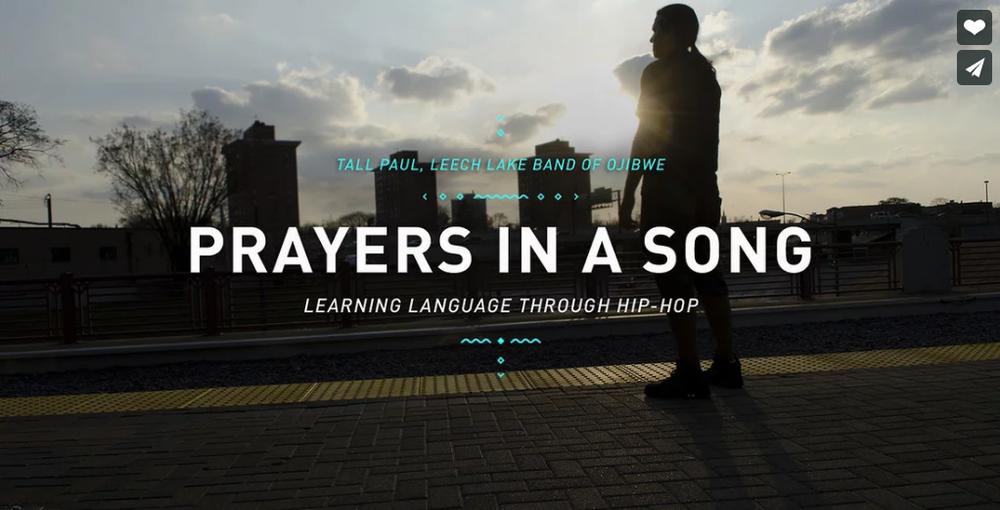 Prayers in a Song  ~  Tall Paul - Leech Lake Band of Ojibwe